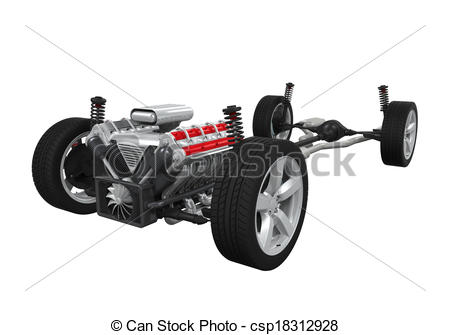 Car chassis Stock Illustration Images. 458 Car chassis.