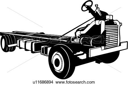 Clipart of , chassis, recreation, recreational, rv, vehicle.