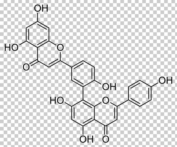 Amentoflavone Biflavonoid Chaste Tree Apigenin PNG, Clipart.