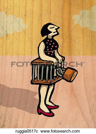 Stock Illustrations of Chastity belt ruggia0517c.