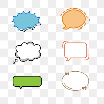 Chat Box PNG Images.