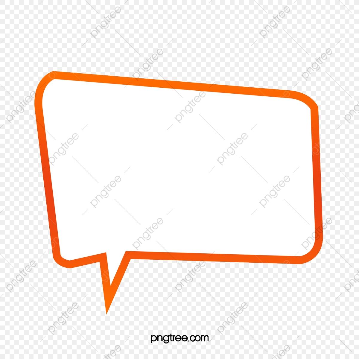Cartoon Chat Box Material, Cartoon Clipart, Gradient, Chat Box PNG.