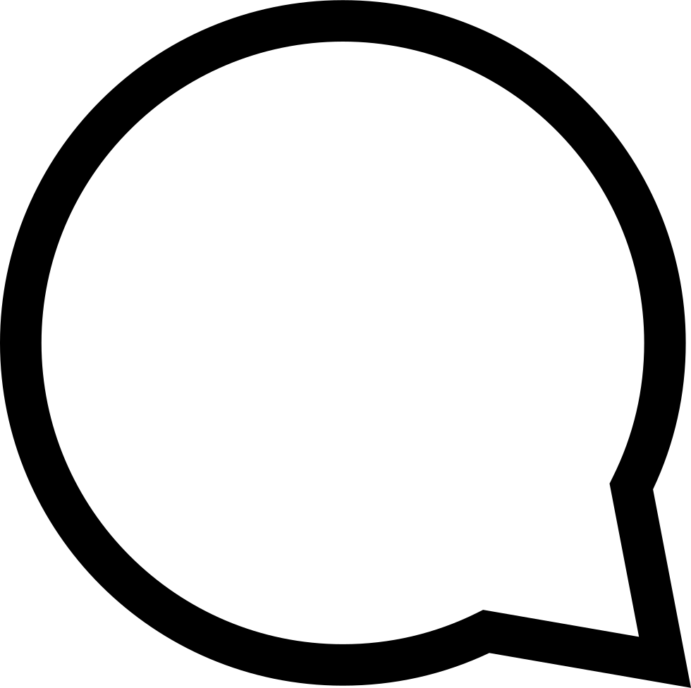 Chat Bubble Png (+).