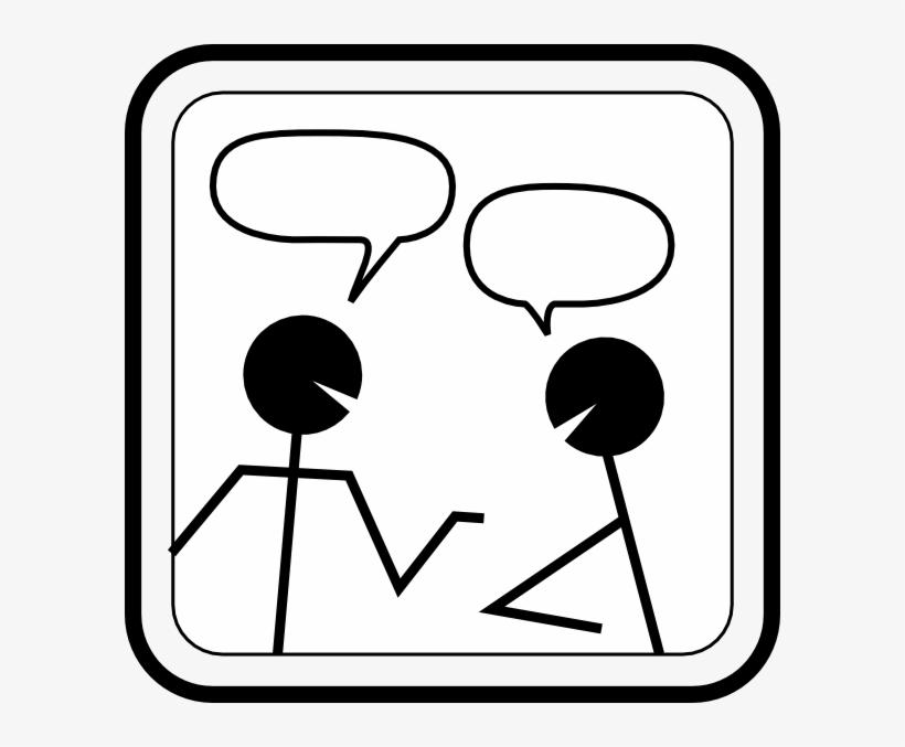 Conversation Clip Art.