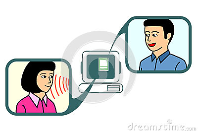 Online Chat Clipart.