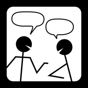 Chat Clip Art.