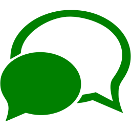 Green chat 4 icon.