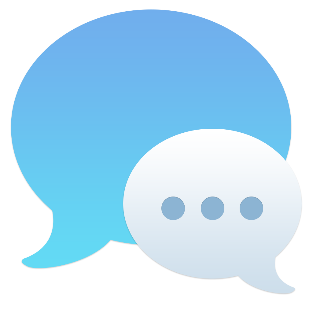 Chat, messages icon.