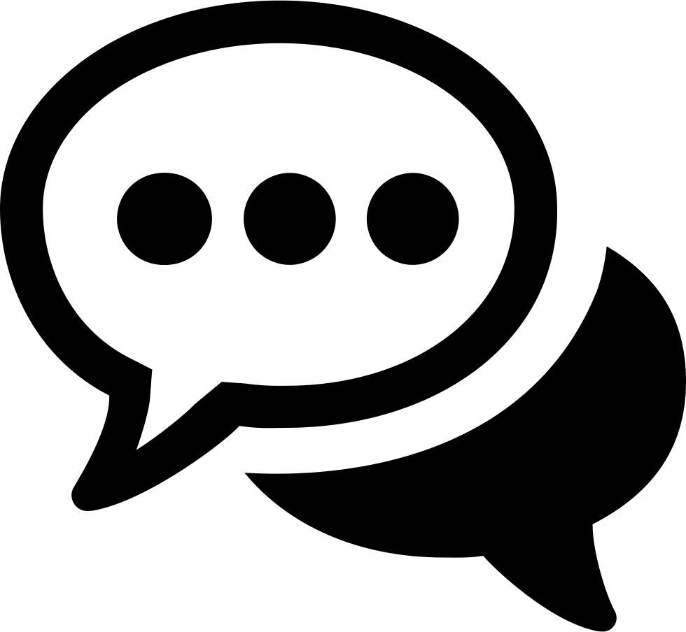 Chat Svg Png Icon Free Download (#397748).