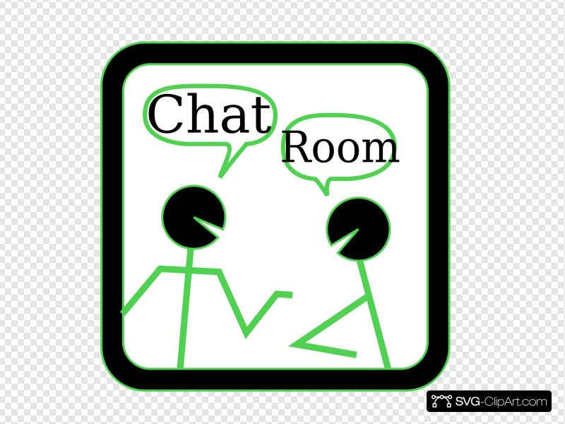 Chat Room Clip art, Icon and SVG.