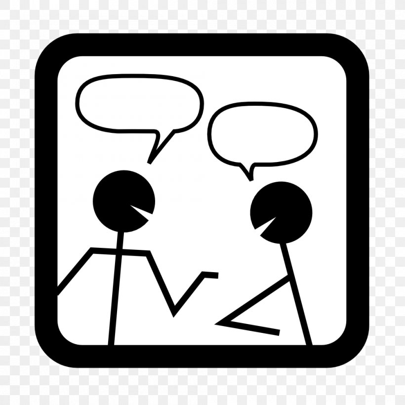 Online Chat Free Content Icon, PNG, 1000x1000px, Online Chat.