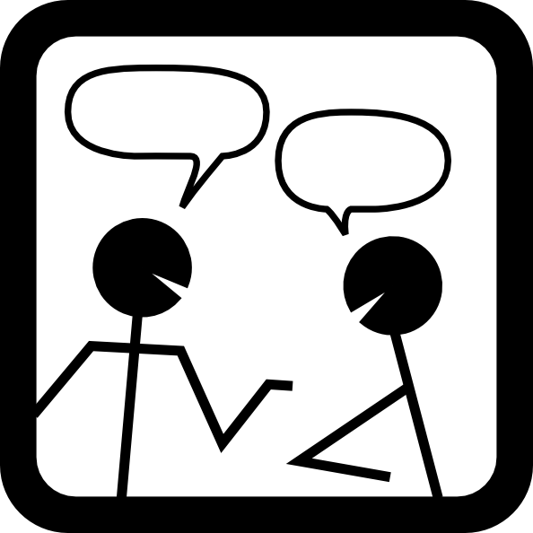 Chat Room Clipart.