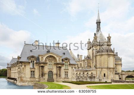Chantilly France Stock Photos, Royalty.