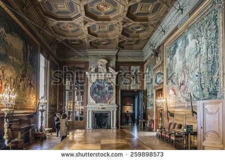 Chateau De Chantilly Stock Photos, Royalty.