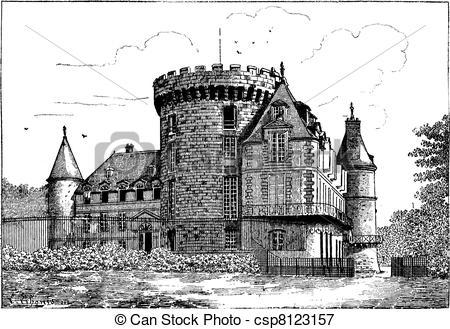 Chateau Vector Clipart EPS Images. 292 Chateau clip art vector.