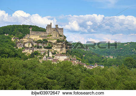 """Picture of """"Chateau of Beynac."""