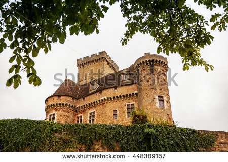 Castle Scape Stock Photos, Royalty.