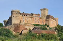 Chateau Castelnau De Bretenoux, France Stock Images.
