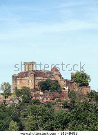 Castelnau Castle Stock Photos, Royalty.