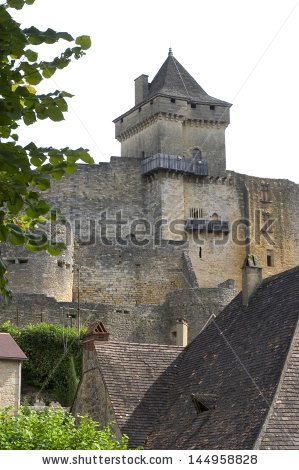 Chateau De Castelnaud Stock Photos, Royalty.