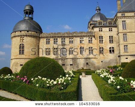 Chateau De Hautefort Stock Photos, Images, & Pictures.