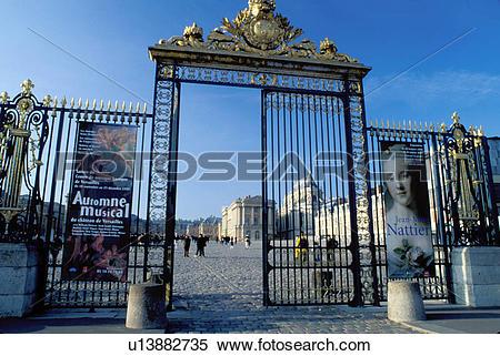 Stock Image of Versailles, Paris, France, Palace, Europe, Yvelines.