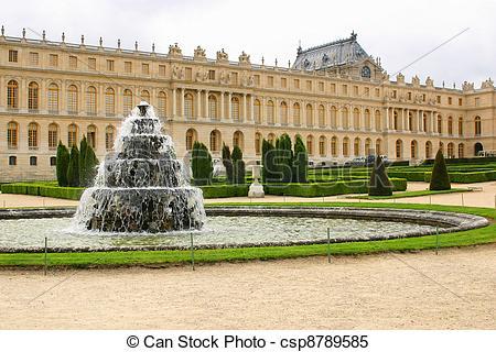 Images de château, fontaine, chateau, Versailles.