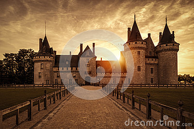 The Chateau Of Sully.