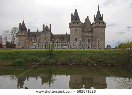 Loire Valley France Stock Images, Royalty.