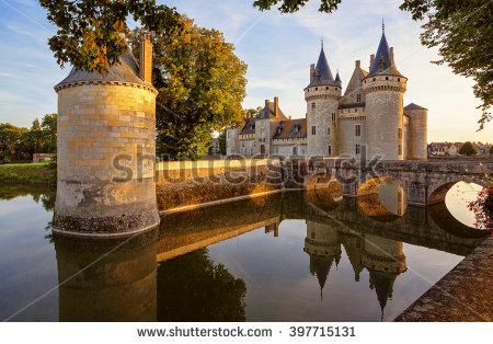 Chateau Stock Photos, Royalty.