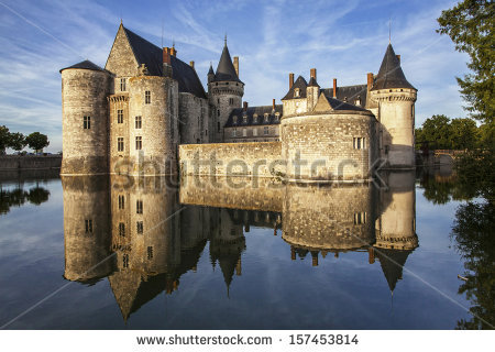 Chateaux Of The Loire Valley Stock Photos, Royalty.