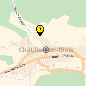 Ostéopathe à Châtillon en Diois.
