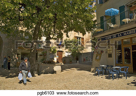 Stock Photo of France. Drome. Diois. Chatillon.