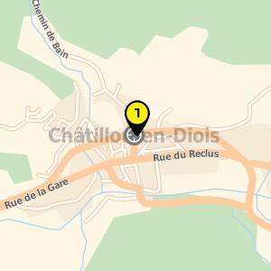 École primaire publique à Châtillon en Diois.
