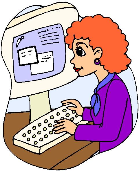 Online Chatting Clip Art.