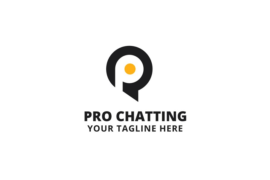 Pro Chatting Logo Template.
