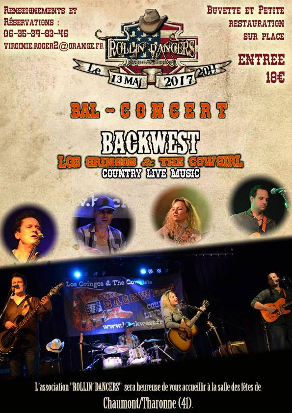 BAL COUNTRY CONCERT CHAUMONT/THARONNE (41) LE 13 MAI 2017.