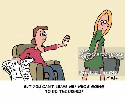Chauvinistic Attitude Cartoons and Comics.