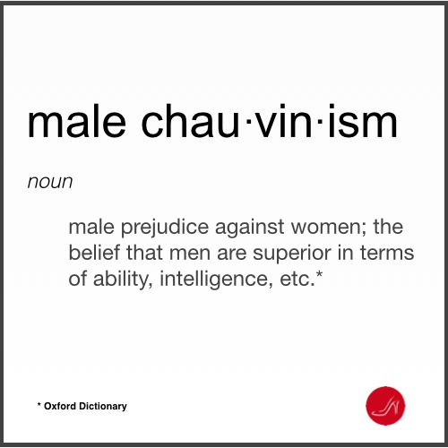 12 Ways in Which Women Perpetuate Male Chauvinism.