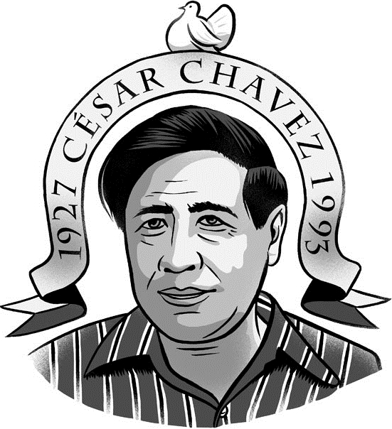 Cesar Chavez Clip Art.
