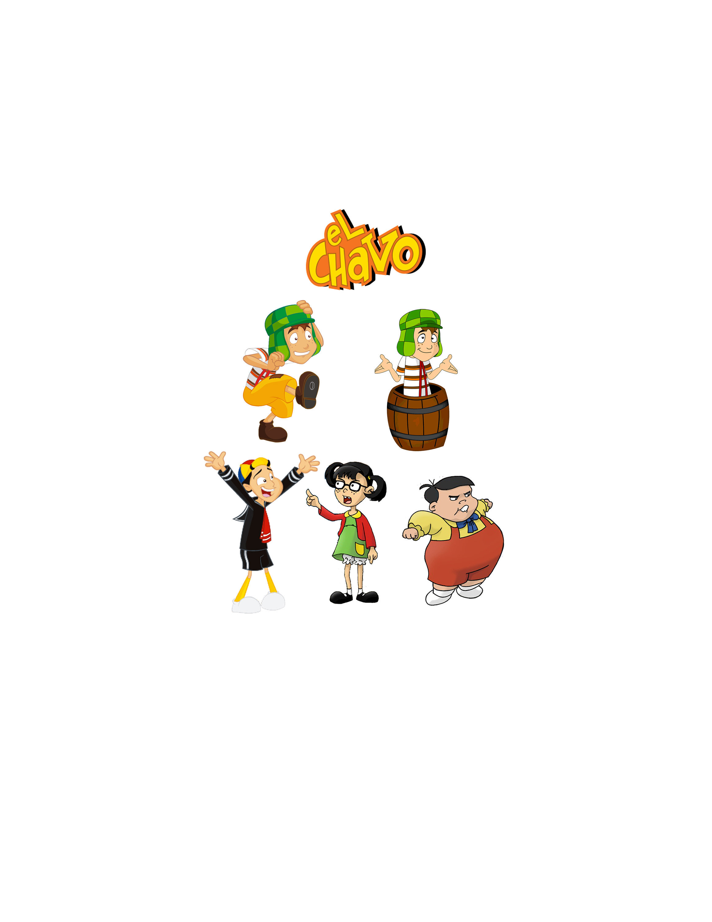 El Chavo Del Ocho Cricut Files, Png File, JPEG File.