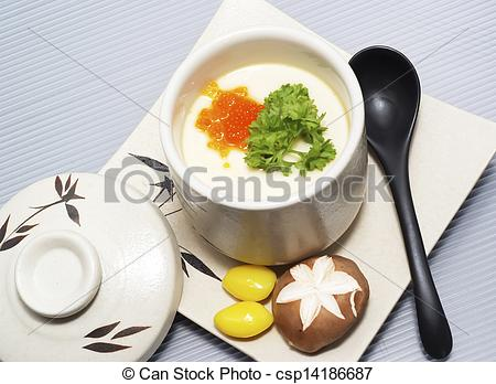 Pictures of chawan mushi.