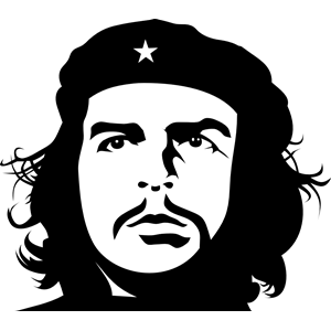 Che Guevara by Rones clipart, cliparts of Che Guevara by Rones.