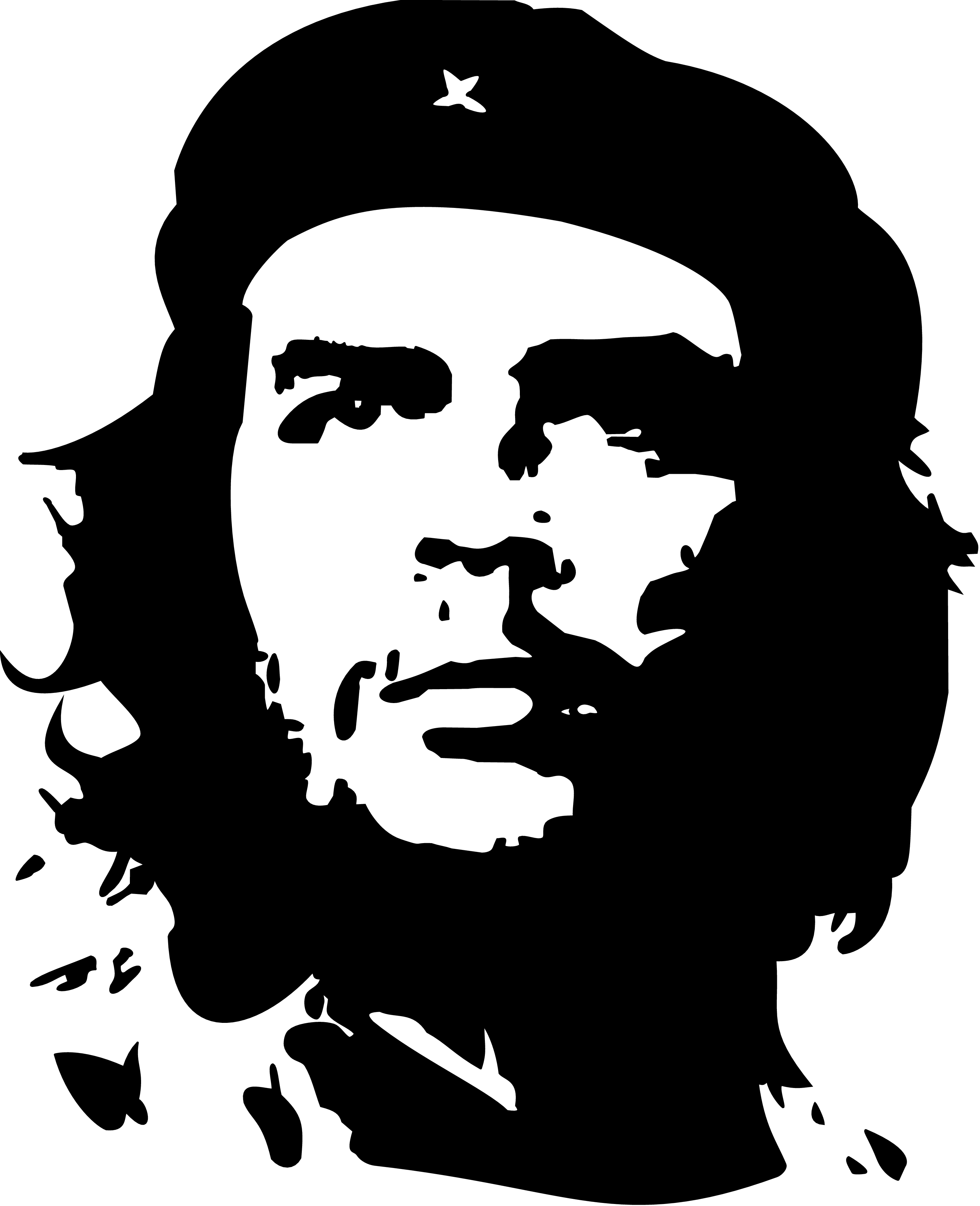 Che Guevara PNG images free download.