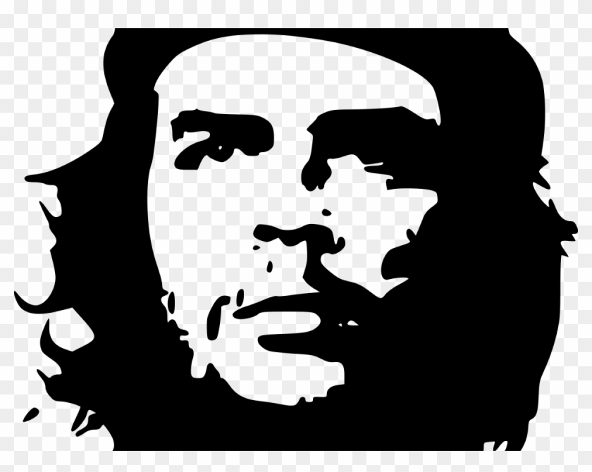 Che Guevara Poster Black And White, HD Png Download.