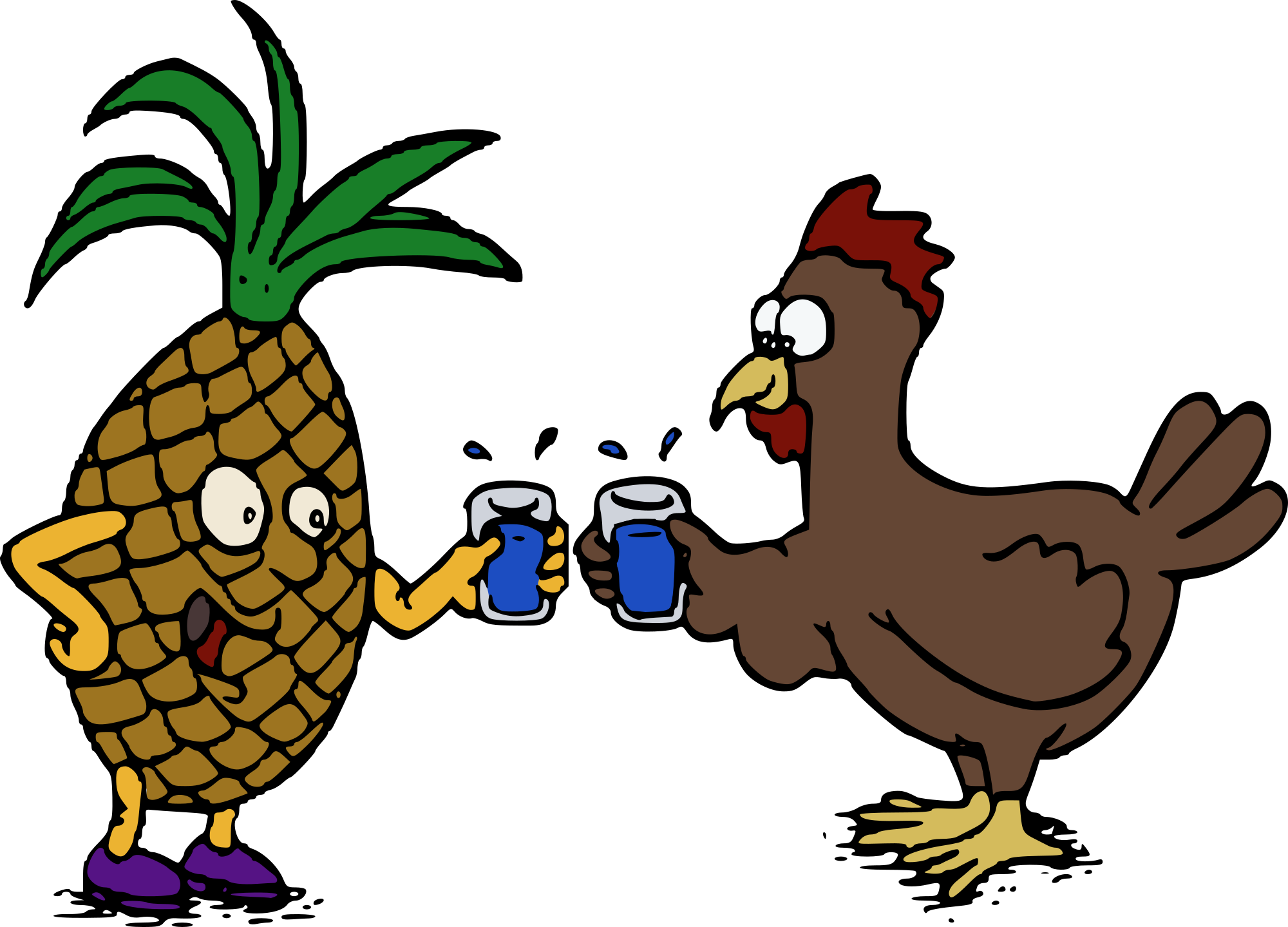 Cheap Chicken Clipart.