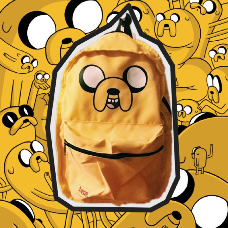 cheap Jack and finn Backpack Adventure Time Bag School Bags for.