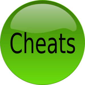 Cheats clip art.