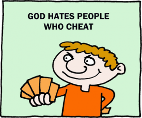 Cheater Clipart.