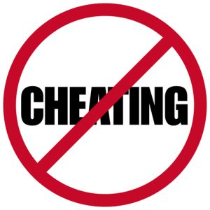 Cheater 20clipart.
